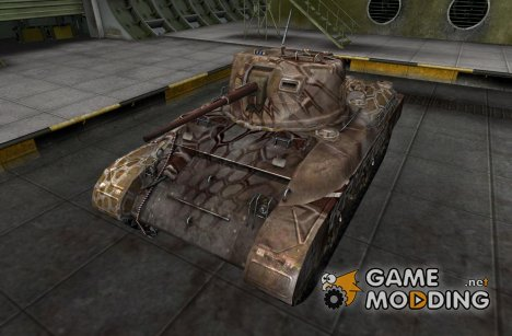 Шкурка для M7 med для World of Tanks