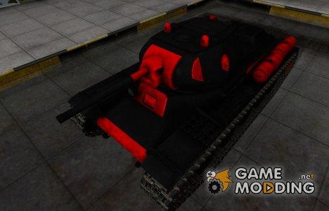 Черно-красные зоны пробития КВ-13 for World of Tanks