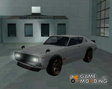 Nissan Skyline KPGC110 for GTA San Andreas