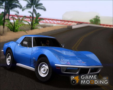 Chevrolet Corvette ZR1 1970 for GTA San Andreas