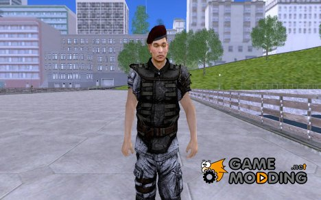 Korean Soldier for GTA San Andreas