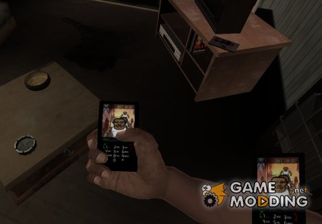 GTA IV New Phone Theme для GTA 4