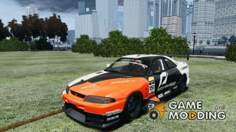 Nissan Skyline GT-R (R33) v1.0 for GTA 4