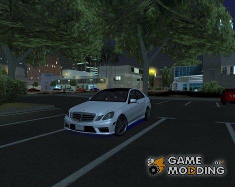 Mercedes-Benz E63 AMG V12 TT Black Revel для GTA San Andreas