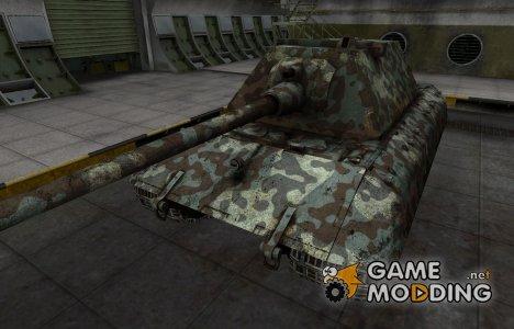 Горный камуфляж для E-100 для World of Tanks