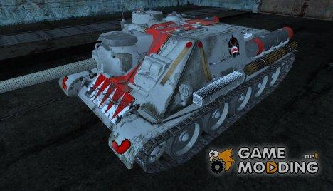 Шкурка для СУ-100 (Вархаммер) для World of Tanks