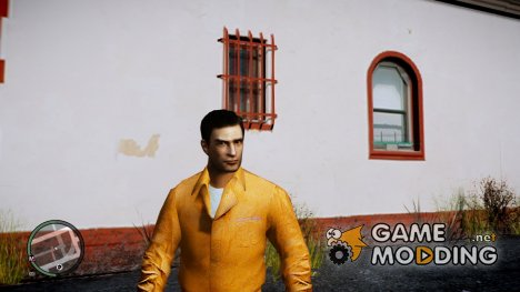 Вито из Mafia II в тюремной форме для GTA 4