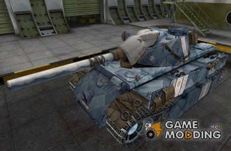 Ремоделинг для Е-75 Valkyria Chronicles for World of Tanks