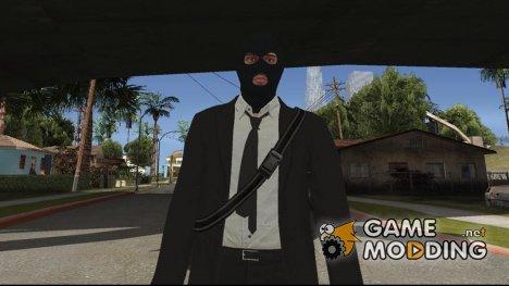 GTA Online Random Robbery (male) для GTA San Andreas
