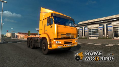 Kamaz 6460 v 2.0 for Euro Truck Simulator 2
