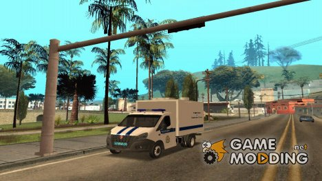 ГАЗель ГУ МВД для GTA San Andreas