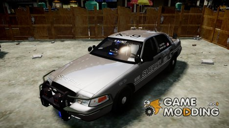 Ford Crown Victoria Sheriff K-9 Unit [ELS] pushe для GTA 4