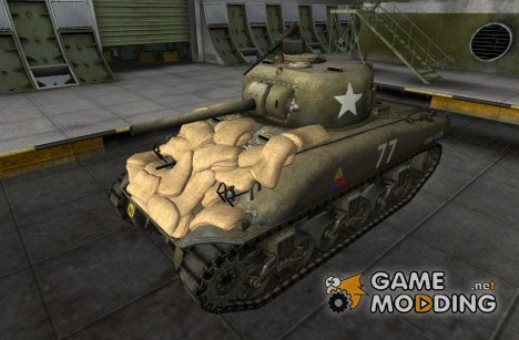 Remodel M4 Sherman for World of Tanks