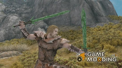 Morrowind Glass Sword for TES V Skyrim