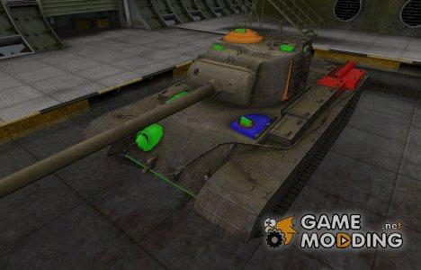 Качественный скин для T32 for World of Tanks