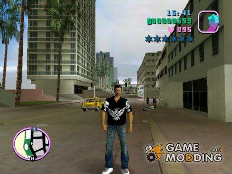 Black Skin for GTA Vice City