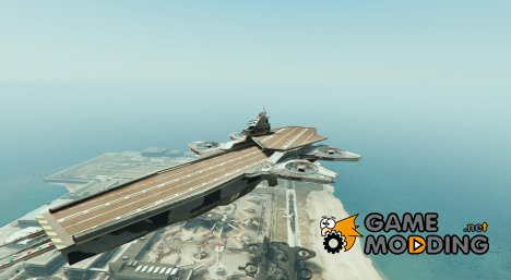S.H.I.E.L.D. Helicarrier (for Titan) v1 for GTA 5