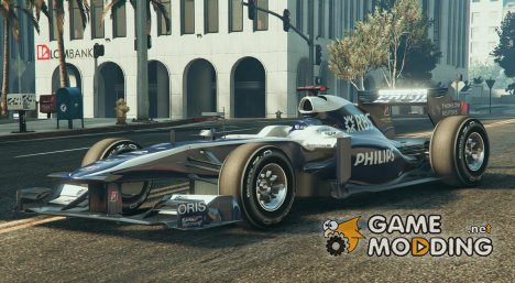 Williams F1 для GTA 5