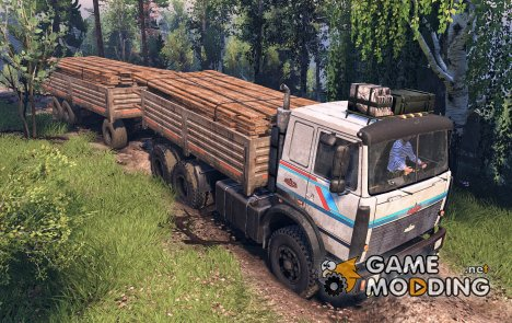 МАЗ 6317 6X6 for Spintires 2014