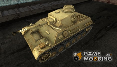 Шкурка для Pz III IV для World of Tanks