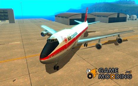 Boeing 747 Air Canada для GTA San Andreas