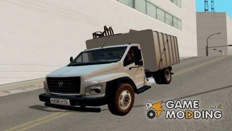ГАЗон Next мусоровоз for GTA San Andreas