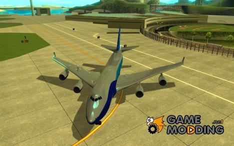 Boeing 747 serie 8 для GTA San Andreas