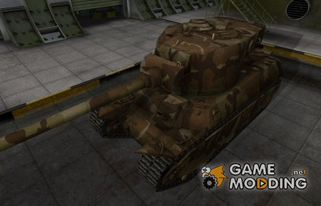 Шкурка для американского танка M6A2E1 для World of Tanks