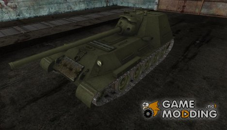 Шкурка для СУ-101М1 для World of Tanks