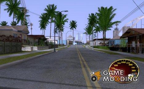 GFS (Gold Ferrari Speed) by zub_mc для GTA San Andreas