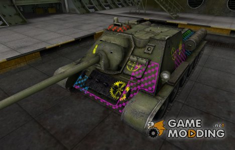 Качественные зоны пробития для СУ-85 для World of Tanks