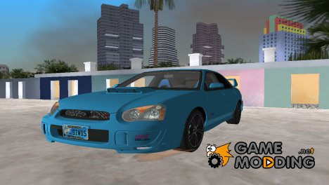 Subaru Impreza 2.0 WRX STI для GTA Vice City