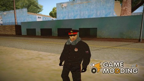 Милиционер в зимней форме V1 for GTA San Andreas