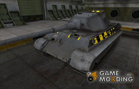 Слабые места PzKpfw VIB Tiger II для World of Tanks