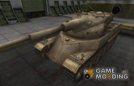 Пустынный французкий скин для AMX 50 120 для World of Tanks