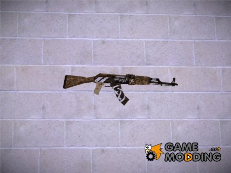 CSGO AK47 Wasteland Rebel для GTA San Andreas