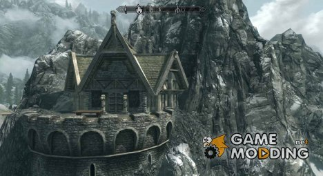 Дом на скале for TES V Skyrim