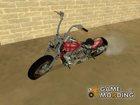 Harley-Davidson Knucklehead for GTA San Andreas