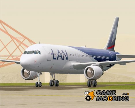 Airbus A320-200 LAN Airlines (CC-BAT) for GTA San Andreas