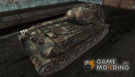 Шкурка для VK4502(P) Ausf B Ambush Camo для World of Tanks