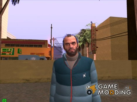 Trevor Phillip GTA V for GTA San Andreas