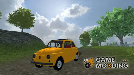 Classic Fiat 500 for Farming Simulator 2013