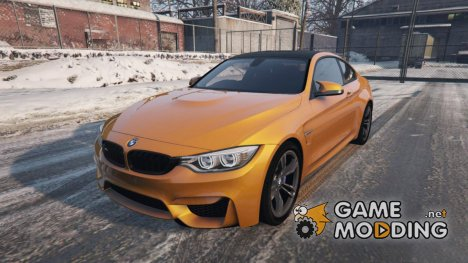 2015 BMW M4 F82 for GTA 5