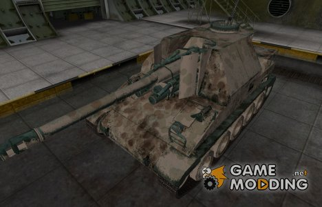 Французкий скин для Lorraine 155 mle. 50 для World of Tanks