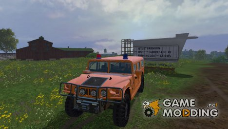 Hummer H1 for Farming Simulator 2015