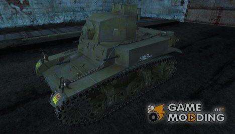 Шкурка для M3 Stuart (Dutch) для World of Tanks