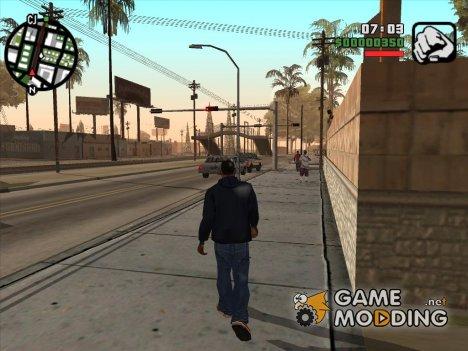 Мобильная версия - Пак модов для GTA San Andreas