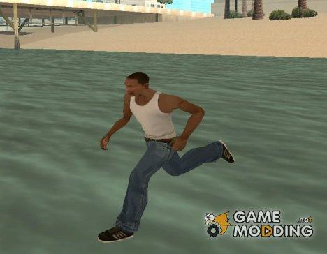 Ходьба по воде и не только for GTA San Andreas
