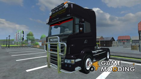 Scania R560 AGRO чёрный for Farming Simulator 2013