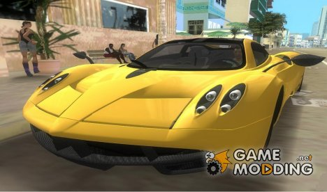 Pagani Huayra TT Black Revel for GTA Vice City